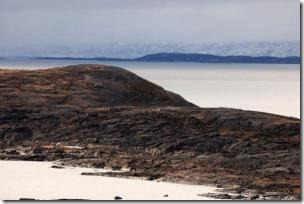 An island in Frobisher Bay in Canada's Arctic.