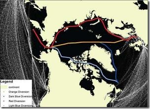 Arctic Shipping Route
