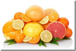Eating higher amounts of a compound in citrus fruits, especially oranges and grapefruit, may lower ischemic stroke risk. (Credit: © andersphoto / Fotolia)
